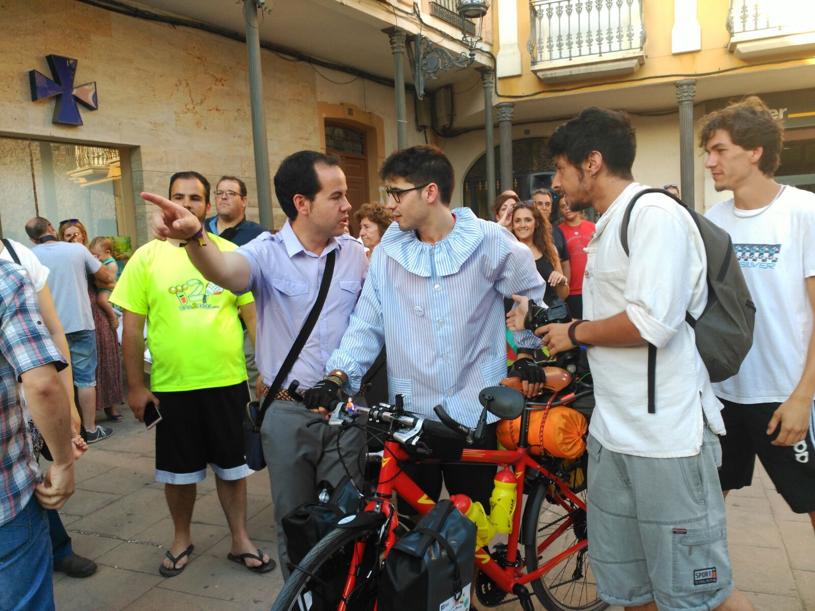 Aventura en bicicleta del Perlé de Herencia