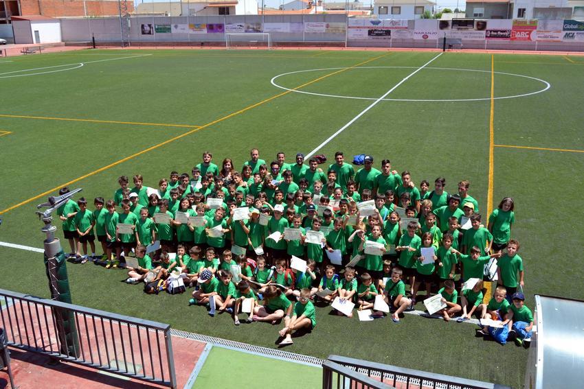 Cierran los 4 Campus deportivos veraniegos de fútbol, gimnasia, kárate y pádel de Carrión de Calatrava
