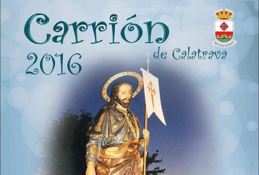 Carrión de Calatrava celebra Santiago Apóstol del 22 al 25 de julio con música, deportes y un Gran Prix