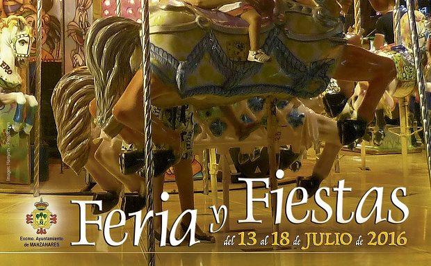 Manzanares se prepara para su Feria y Fiestas entre el 13 y 18 de julio