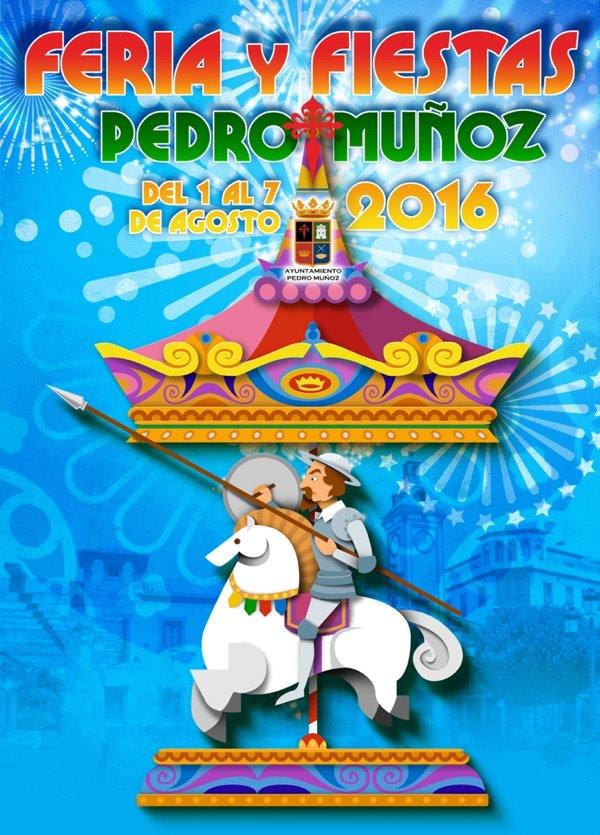 Cartel Feria de Pedro Muñoz 2016