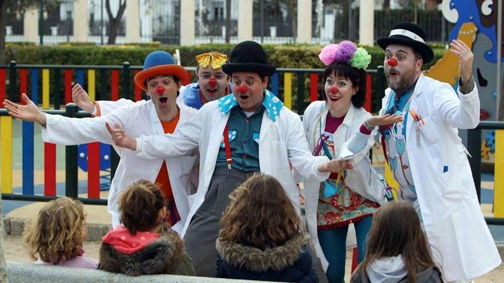 Formación para la iniciación al clown de Hospital