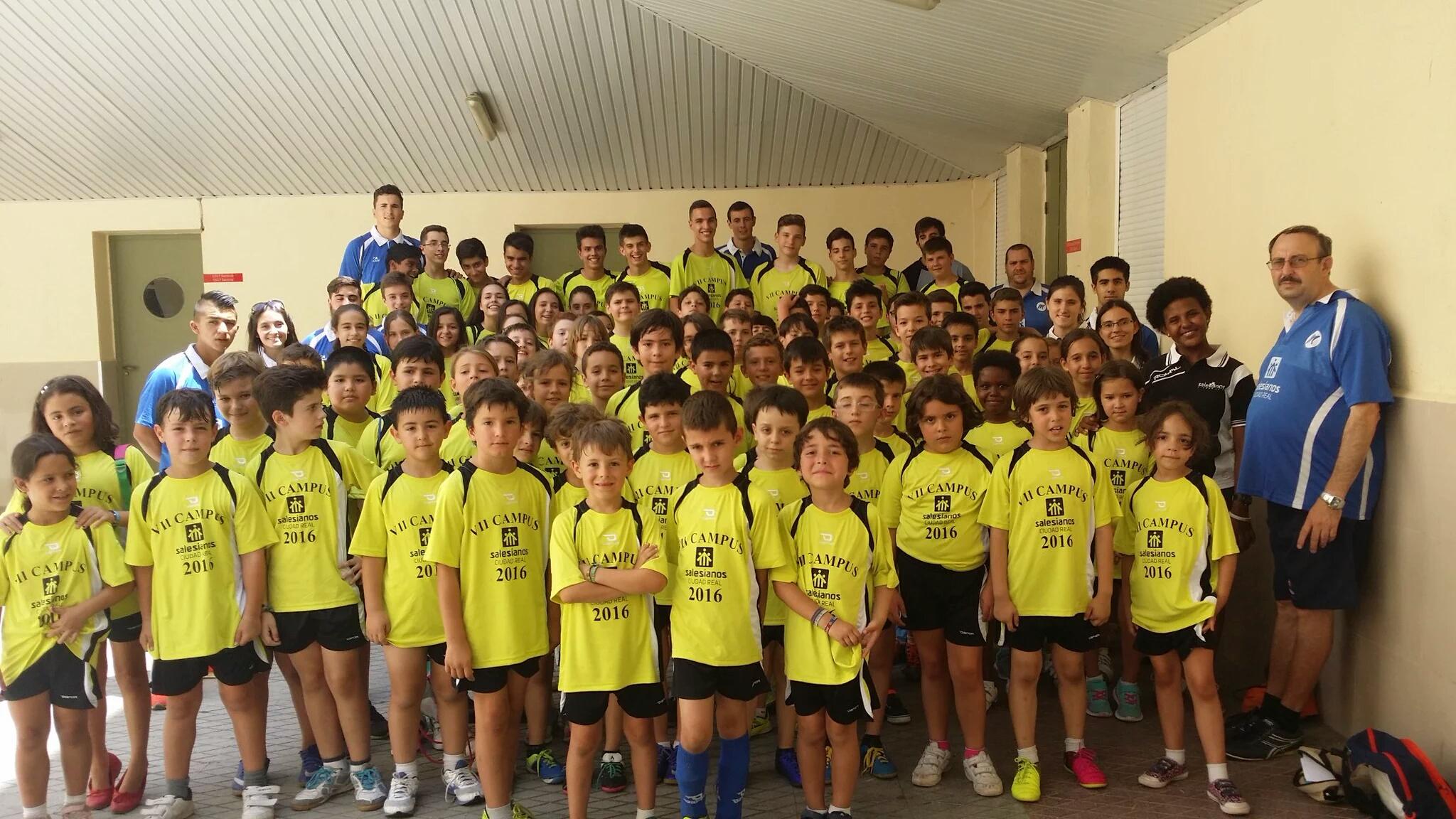 VII Campus Deportivo de verano del Club Deportivo Don Bosco, de Ciudad Real