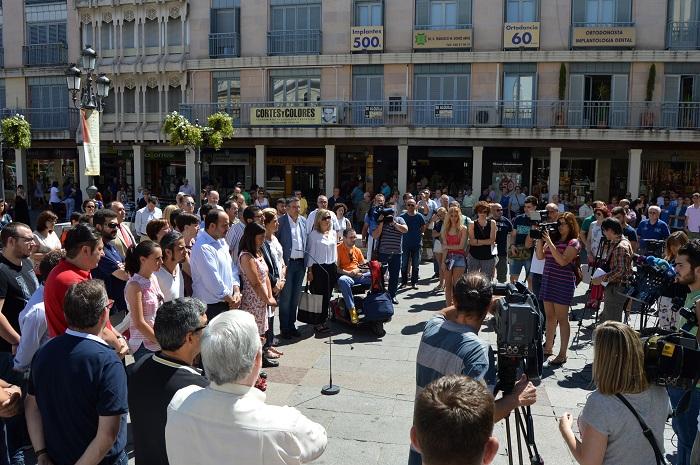 Las Instituciones de Ciudad Real guardan un minuto de silencio por el atentado de Niza