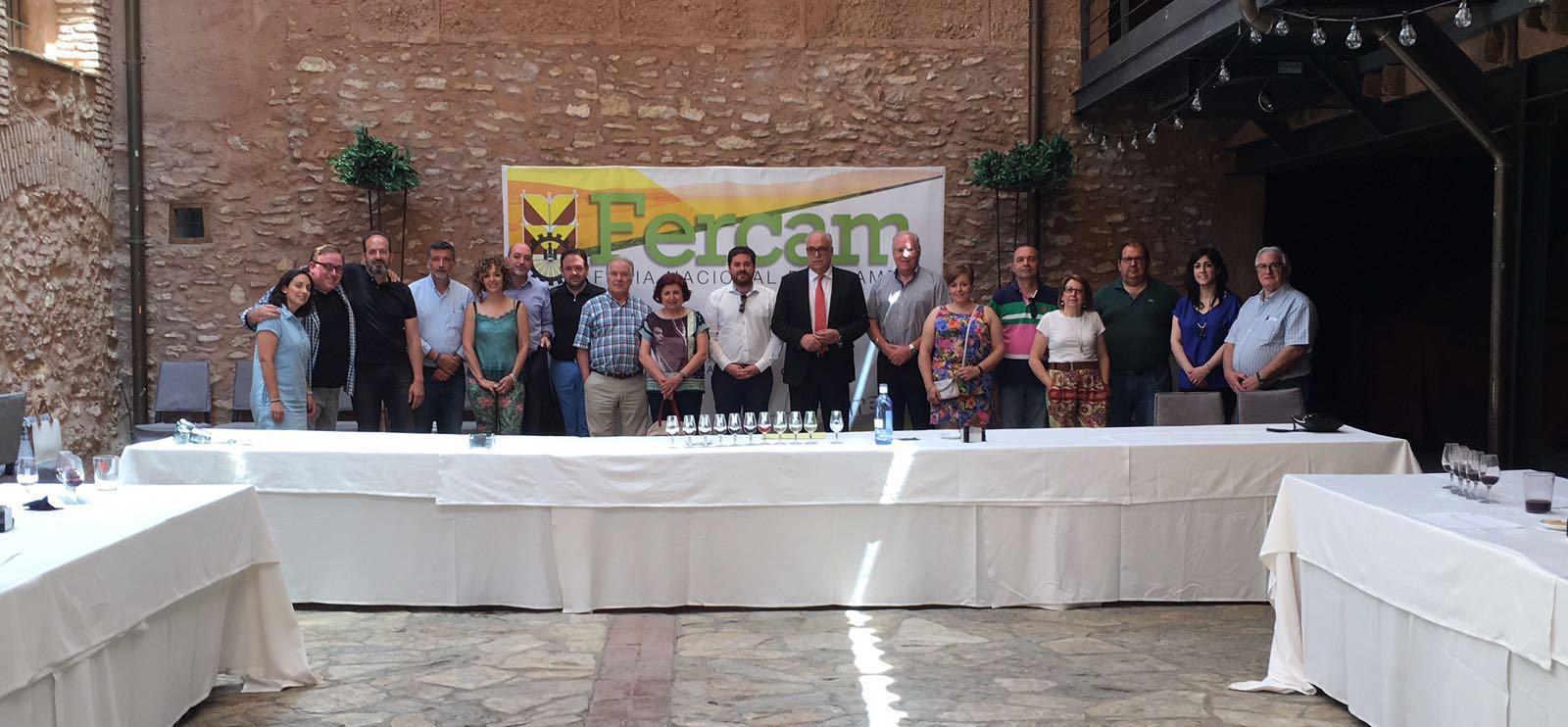 Altas puntuaciones en el concurso regional de calidad de vinos de FERCAM