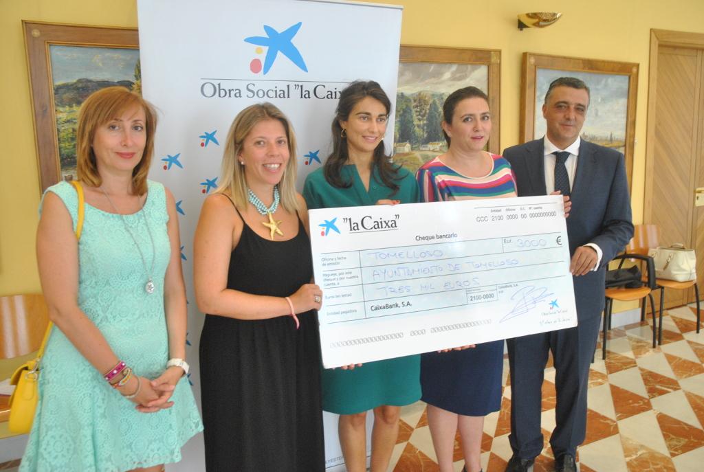 La Obra Social de La Caixa aportará 3.000 € al Campamento Urbano de Tomelloso