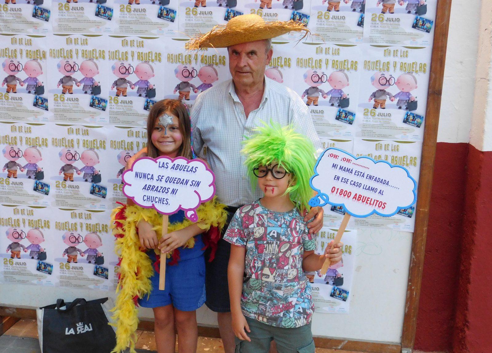Abuelos y nietos baten el record de asistencia en las 'Noches de Verano'  de Daimiel