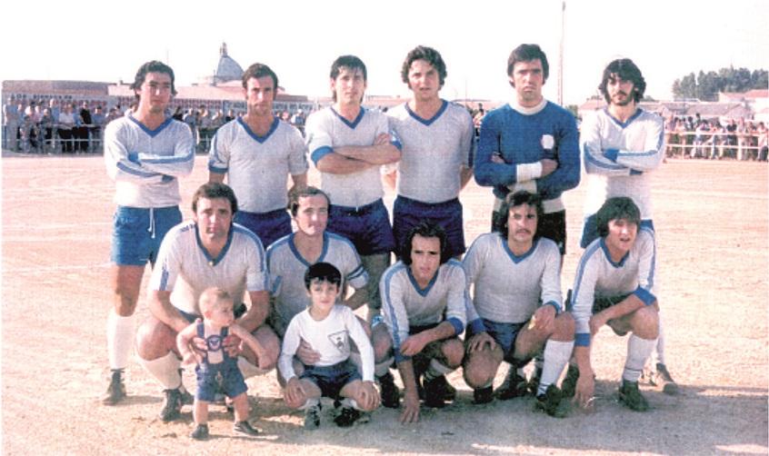 El Miguelturreño cuando militaba en 2ª Regional, temporada 1977-1978