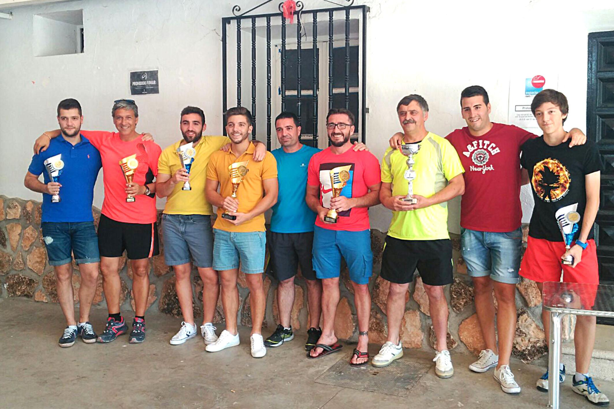 Ángel José Medina gana la liga de tenis de Argamasilla de Alba
