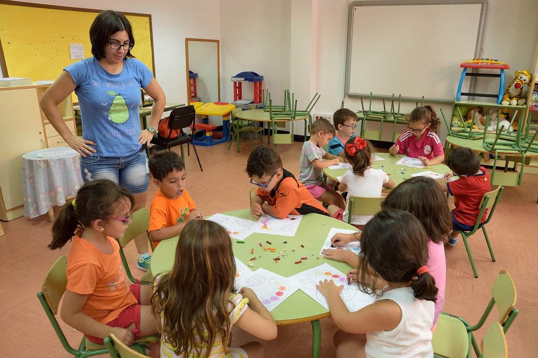 La Escuela de Verano de Argamasilla de Alba se inició con 160 niños y niñas