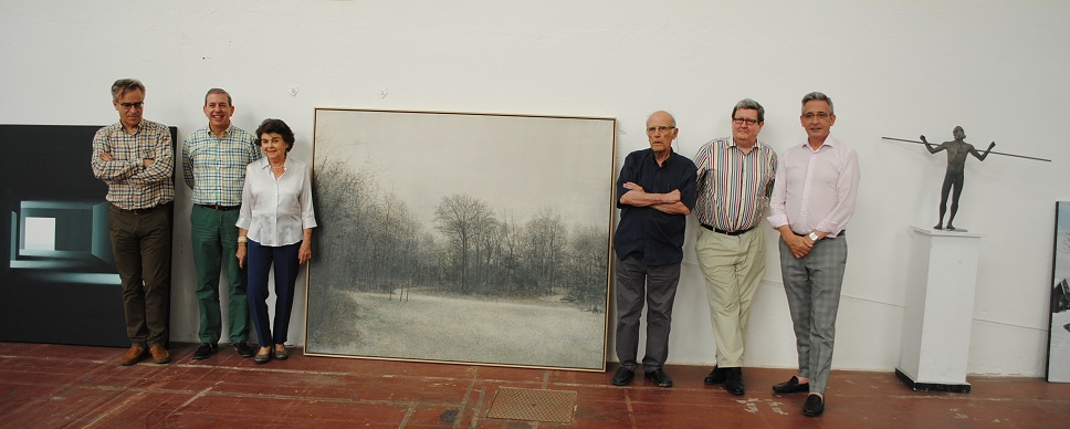 Una pintura de Miguel Galano, Medalla de Oro de la 77 Exposición Internacional de Artes Plásticas