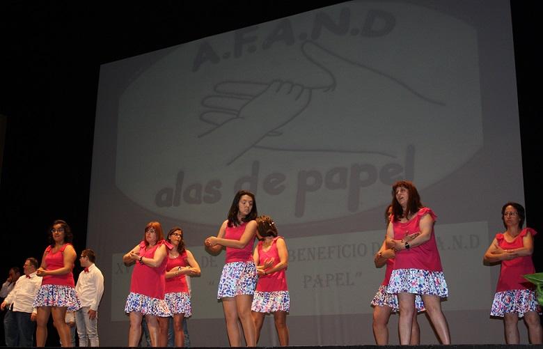 Alas de Papel y Salsa Flamenca, quince años juntos por la causa