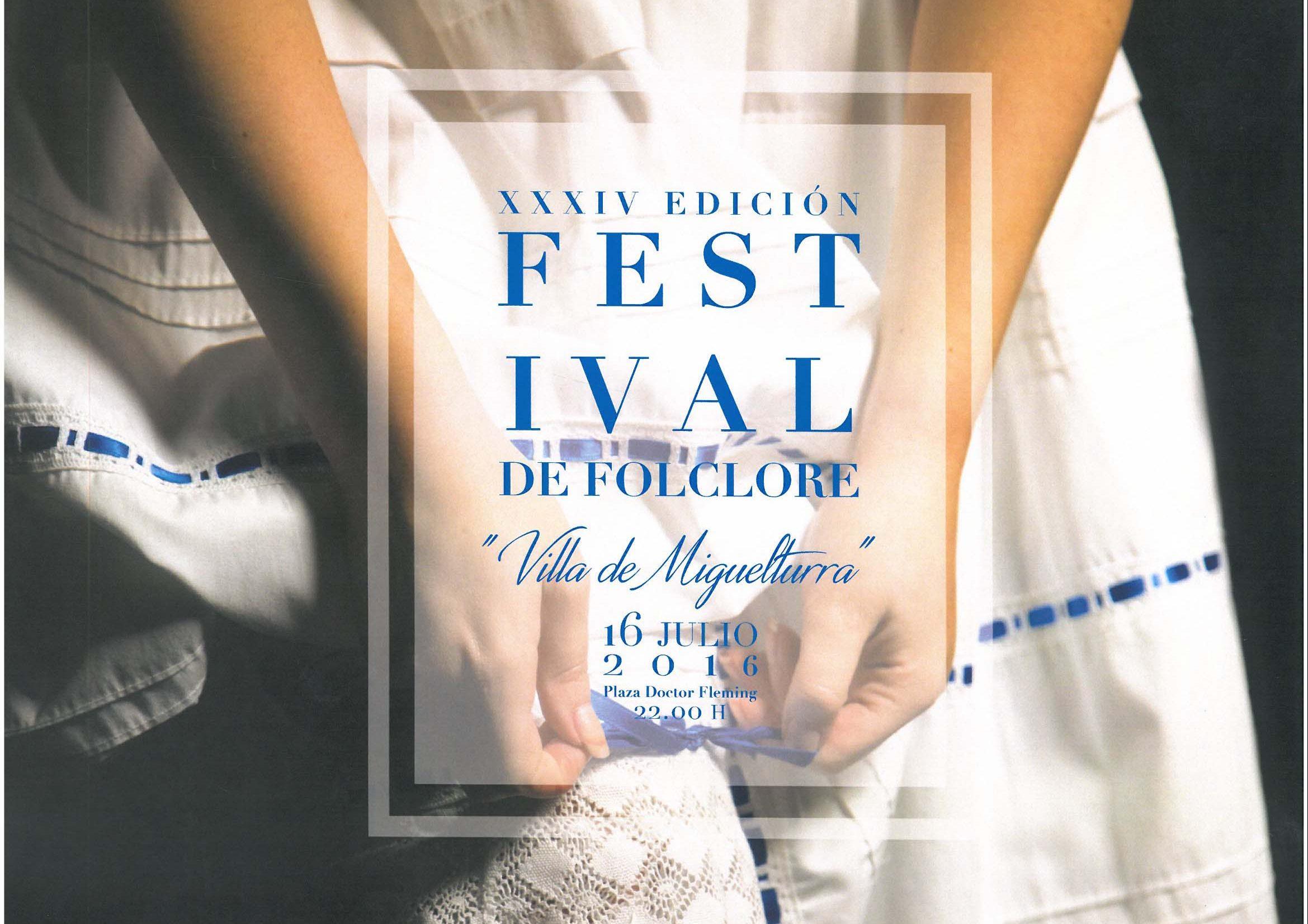 XXXIV Festival Folclore » Villa de Miguelturra » el sábado 16 de julio