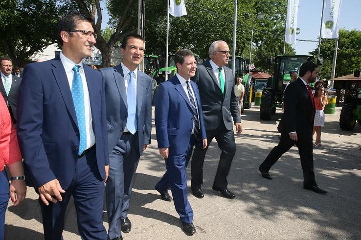 García-Page en la inauguración de FERCAM