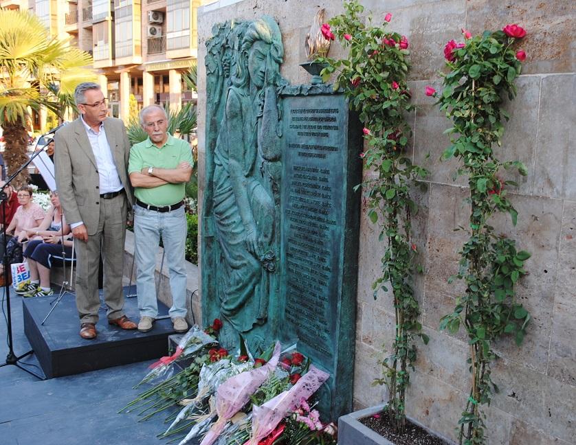 Valdepeñas inmortaliza el recuerdo a las veintidós víctimas mortales de la riada del 1 de julio de 1979