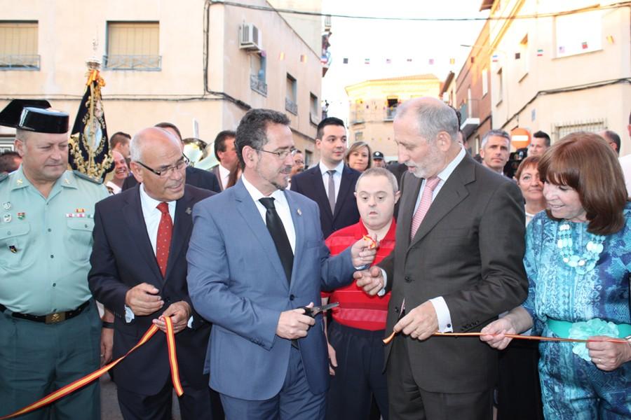 Inauguración corte cinta Feria de La Solana