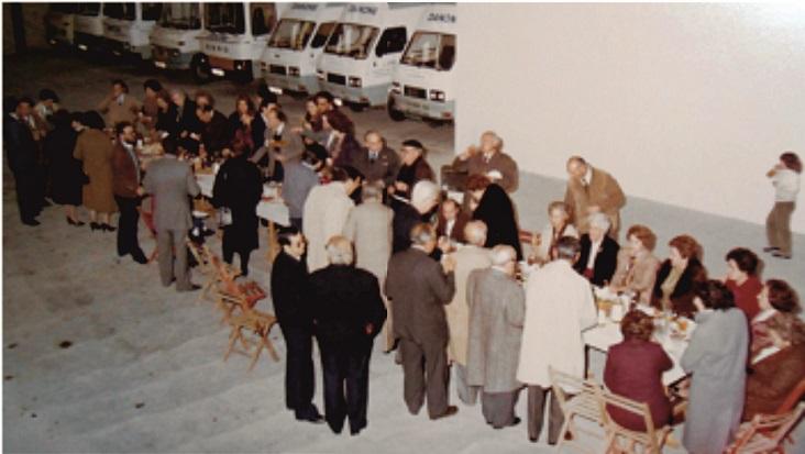 Inauguración de las nuevas instalaciones en 1983