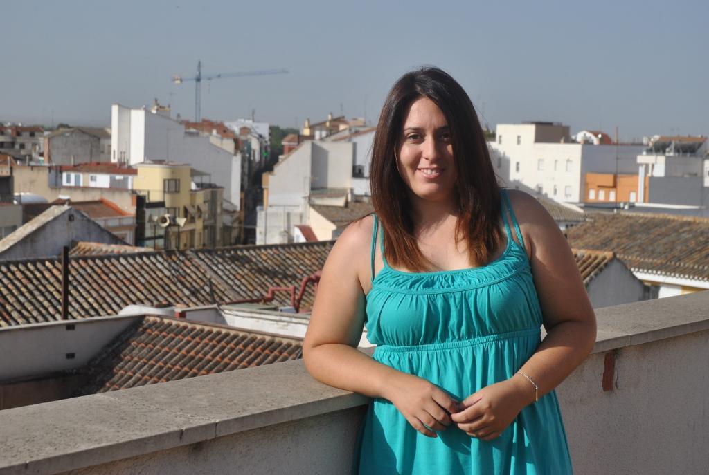 Lola Garrido ha realizado el estudio en el Ayuntamiento gracias a una beca de la UCLM