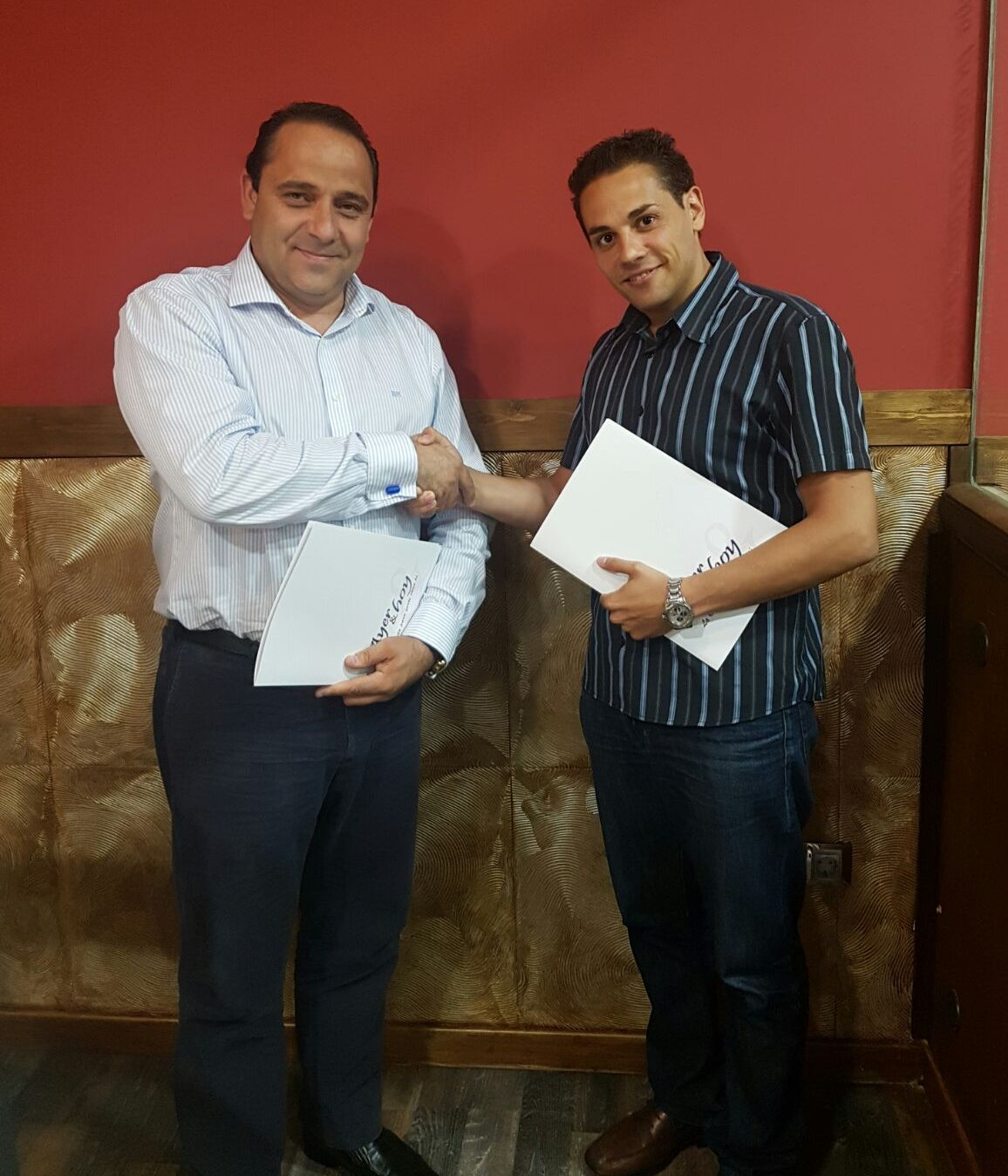 Miguel Ángel Gómez Poblete y Ramón Gil Domínguez