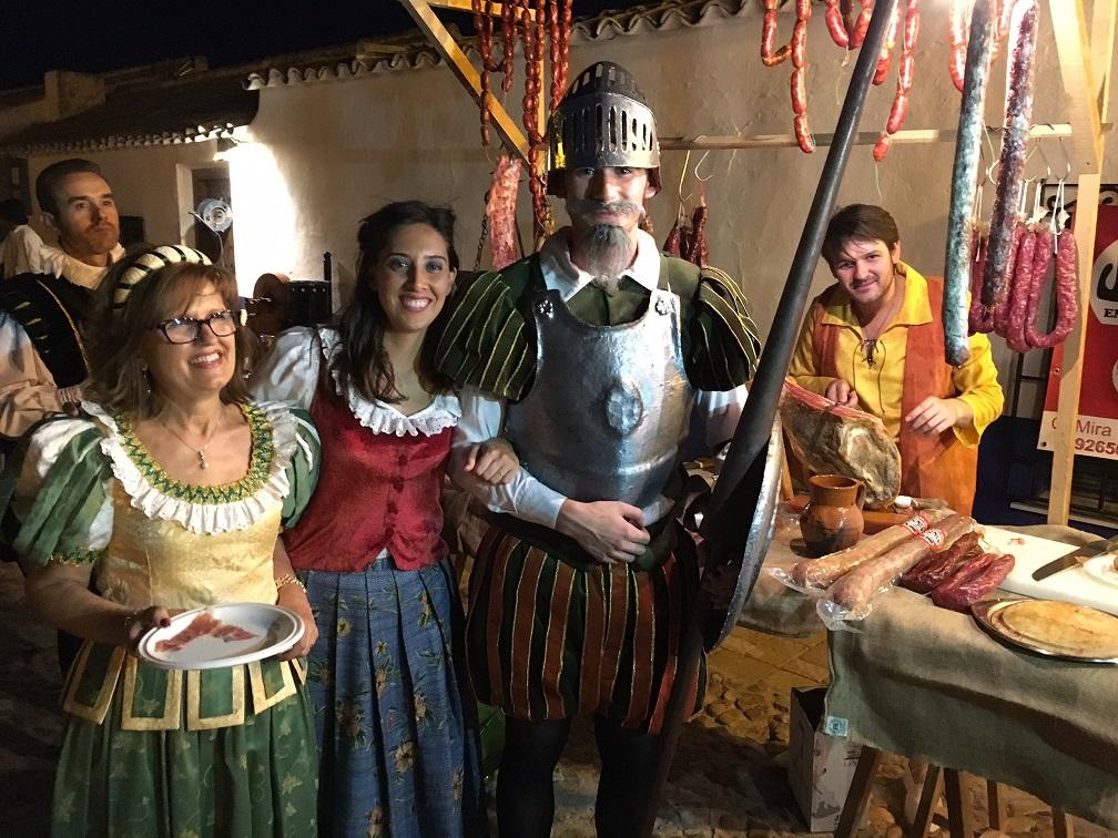 """Campo de Criptana vive y siente a Cervantes en su 'Noche Cervantina"""" celebrando su universalidad y la de su obra"""