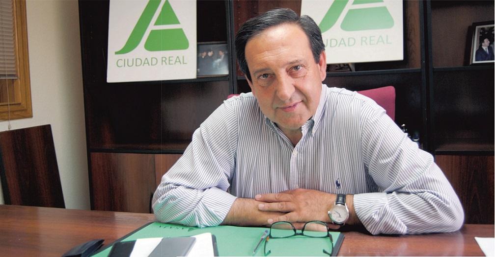 Pedro Barato. Presidente nacional de la organización agraria ASAJA