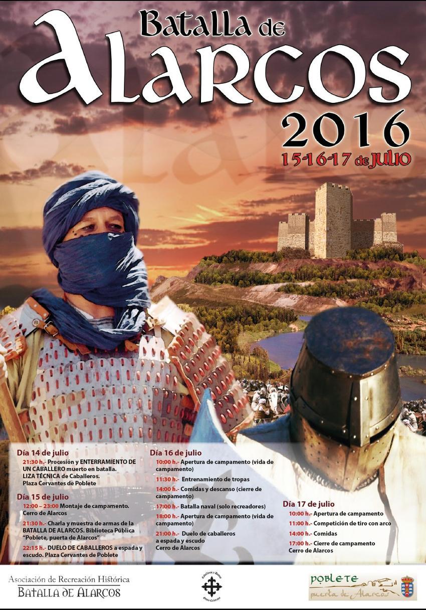 Poblete, recreación de la batalla de Alarcos