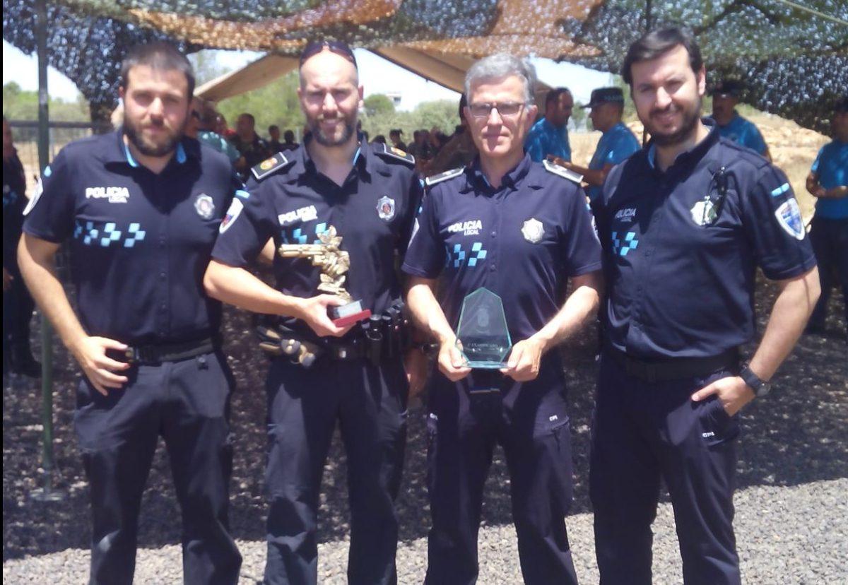 La Policía Local de Alcázar de San Juan 1ª clasificada por equipos en el Campeonato de Tiro organizado en el BHELA