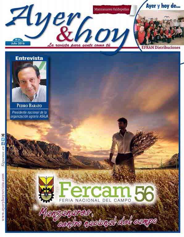 Revista de Julio 2016 – Manzanares – Valdepeñas