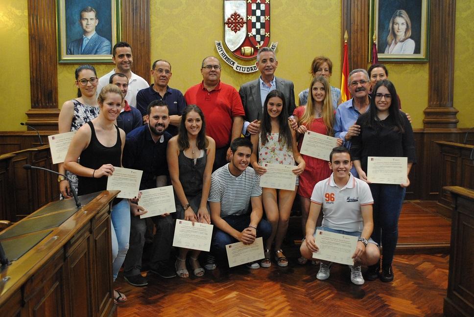 Entregados los premios para los mejores proyectos empresariales de Valdepeñas