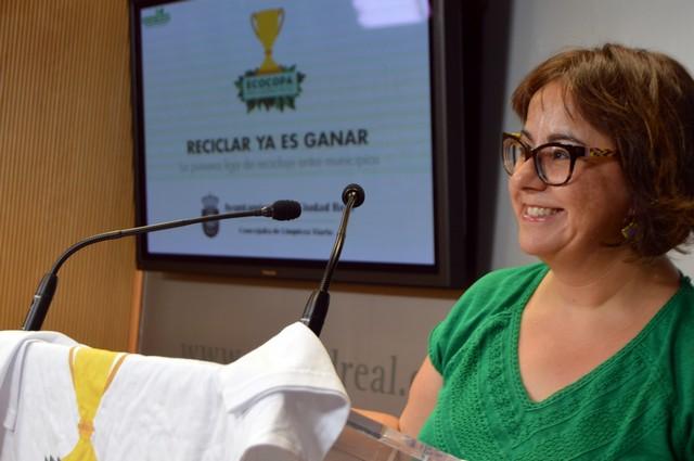 Nieto-Márquez anima a los ciudadrealeños a reciclar para que Ciudad Real gane la ECOCOPA