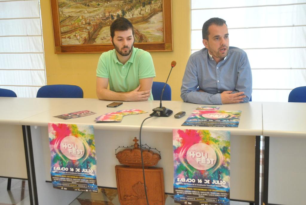 Presentación Holi Fest en Tomelloso