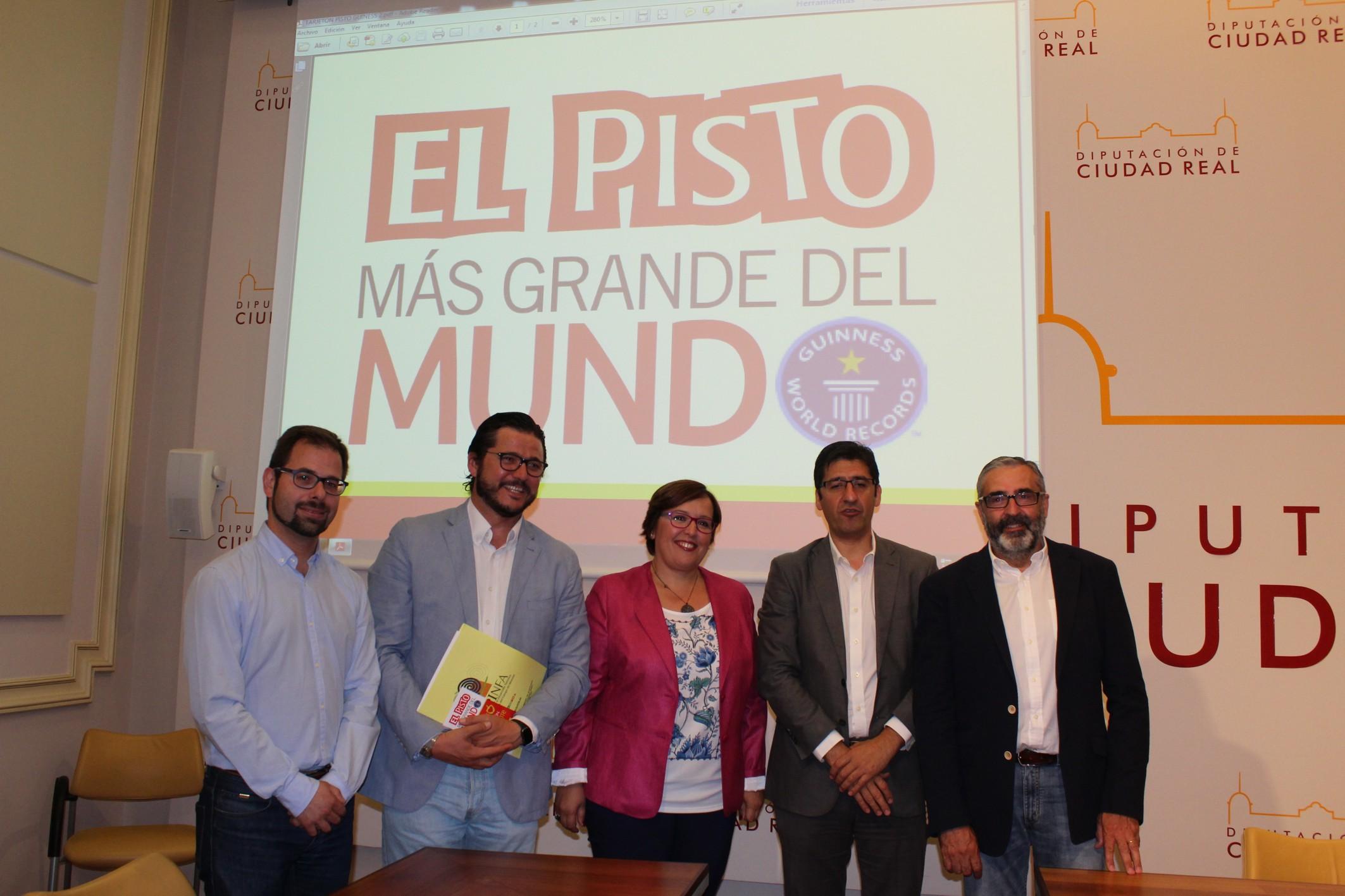 La XIV edición del Pisto Gigante se celebrará en el marco de la Fiesta del Pimiento