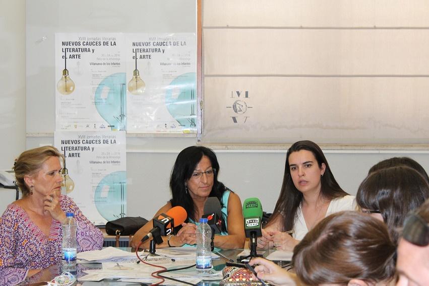 Presentada la programación de las Jornadas Literarias Nuevos Cauces de la Literatura y el Arte de Villanueva de los Infantes