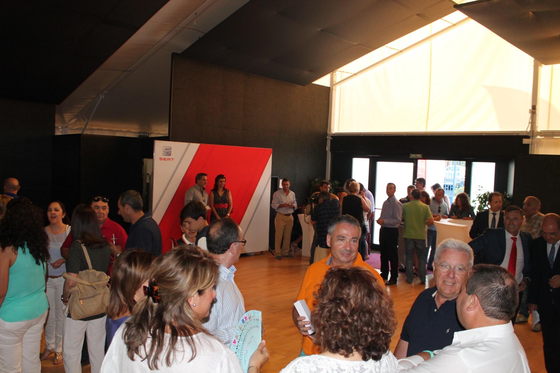 Comatur - Presentación del Seat Ateca en el Club de Ocio Nudos de Ciudad Real