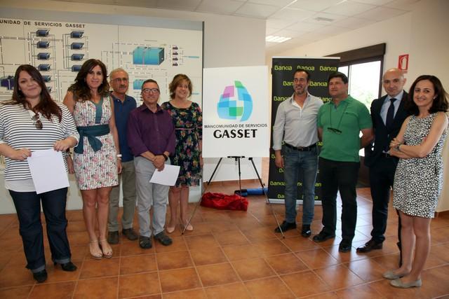 La Mancomunidad de Servicios Gasset, a la que pertenecen 7 municipios, Carrión y Poblete entre ellos, estrena nuevo logotipo