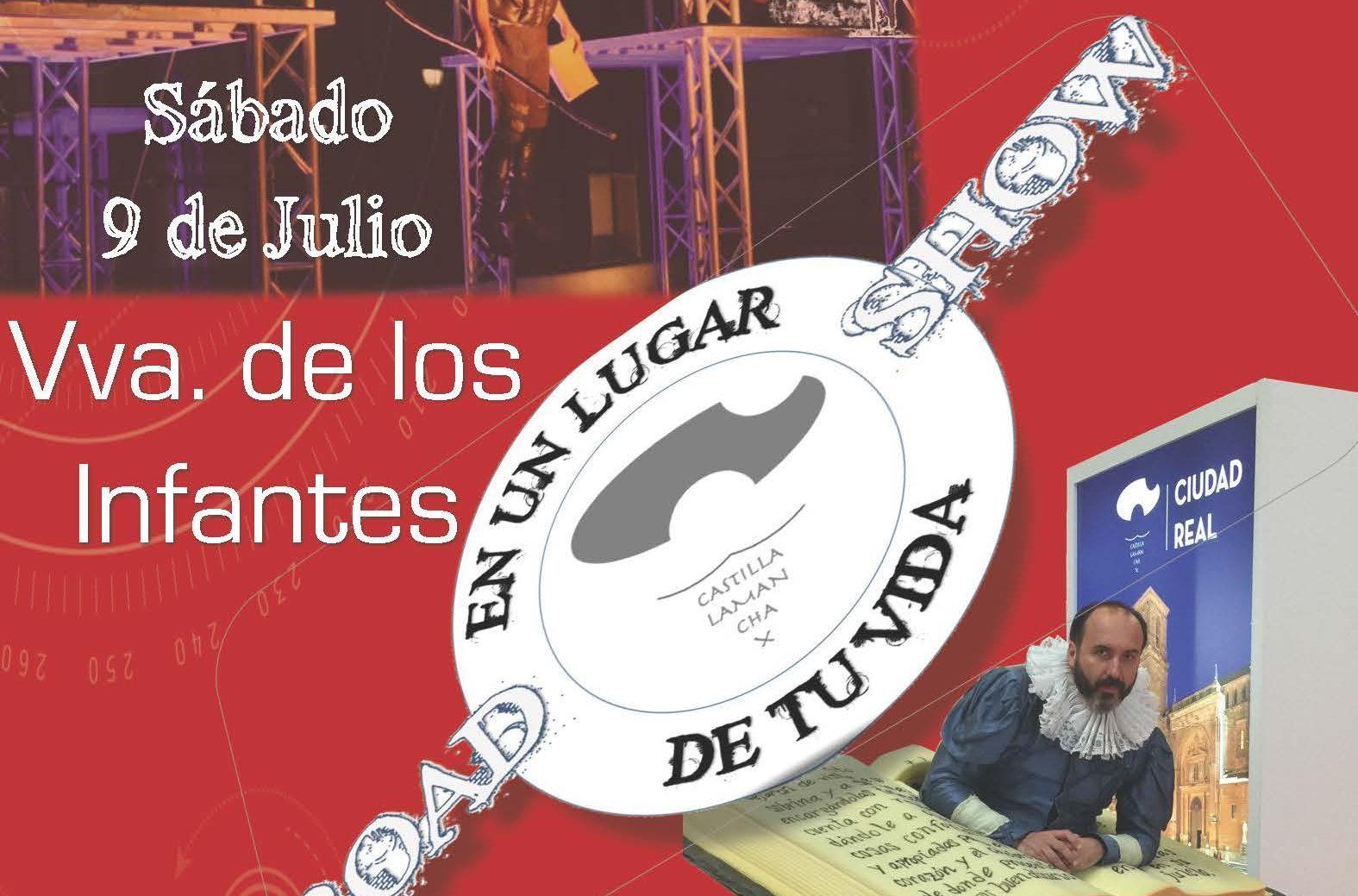 El Road Show 'En un lugar de tu vida' llega a Villanueva de los Infantes el próximo sábado