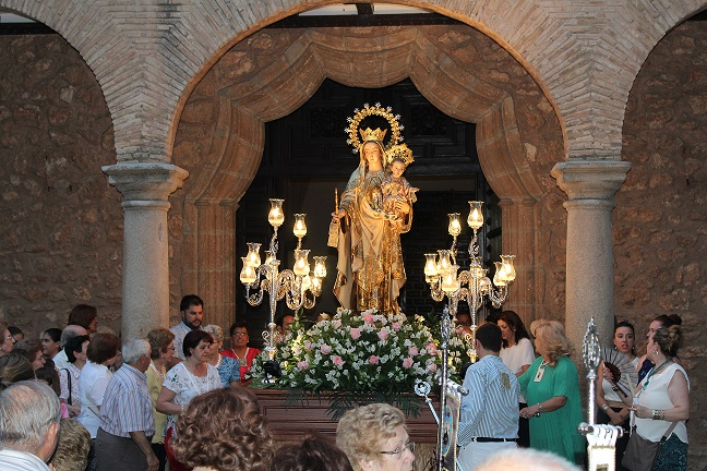 Daimiel honra a Nuestra Señora del Carmen
