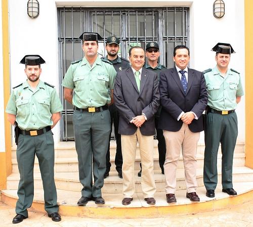 El Delegado del Gobierno visita Campo de Criptana para conocer el protocolo de la Guardería Rural Nocturna