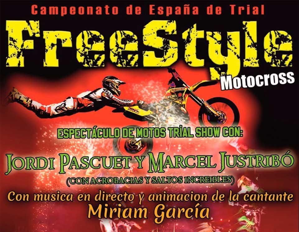 Espectáculo de trial freestyle el domingo 31 de julio en Pedro Muñoz