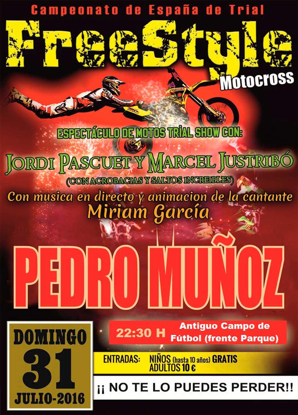 cartel-freestyle-feria-2016 Pedro Muñoz