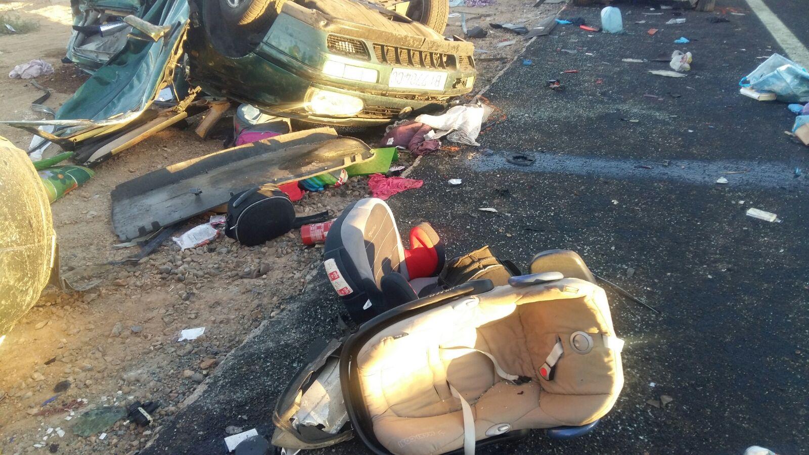 Grave accidente en la A-4 a su paso por Manzanares