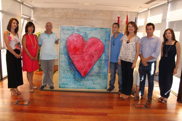 El Gobierno regional apoya el proyecto de inclusión artística 'Valorarte' de Laborvalía