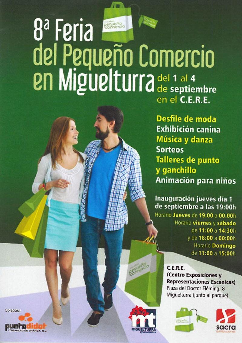 Feria del pequeño comercio de Miguelturra 2016