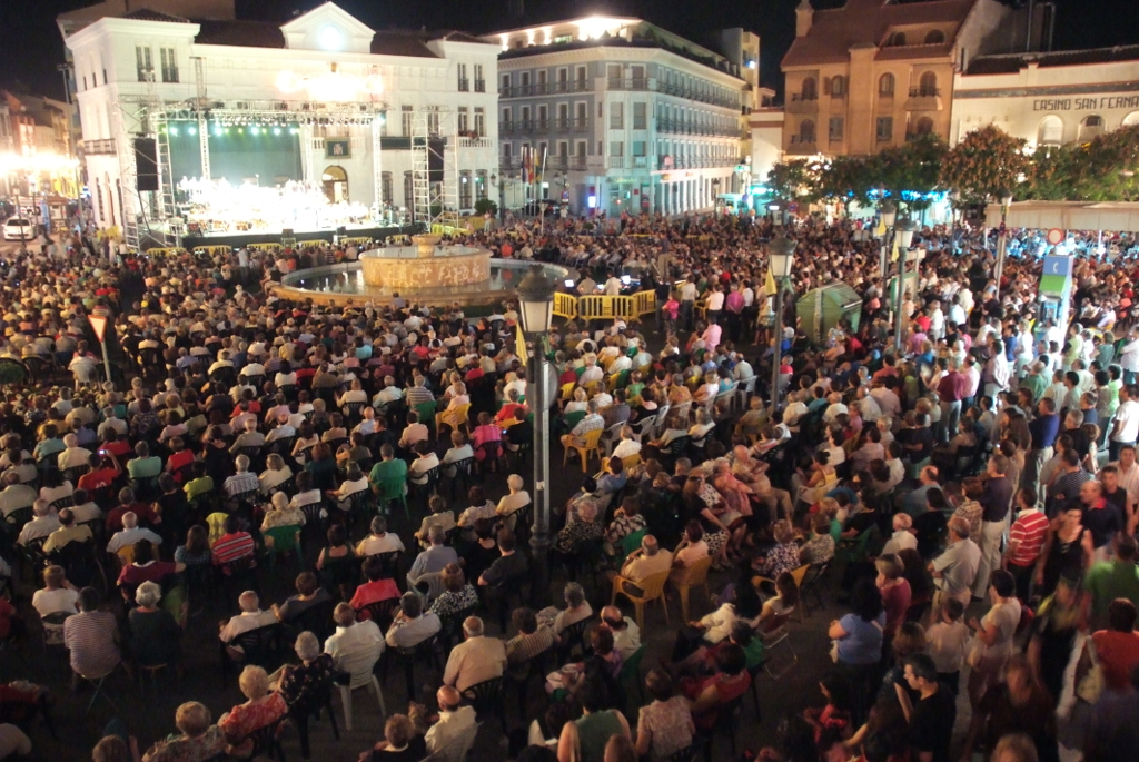 La plaza de España albergará una importante programación de la Feria y Fiestas de Tomelloso 2016