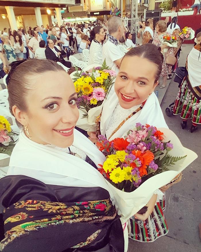 Casandra Fernández ganadora del Concurso de Selfies de Pandorga en su XXX aniversario como fiesta de interés turístico regional