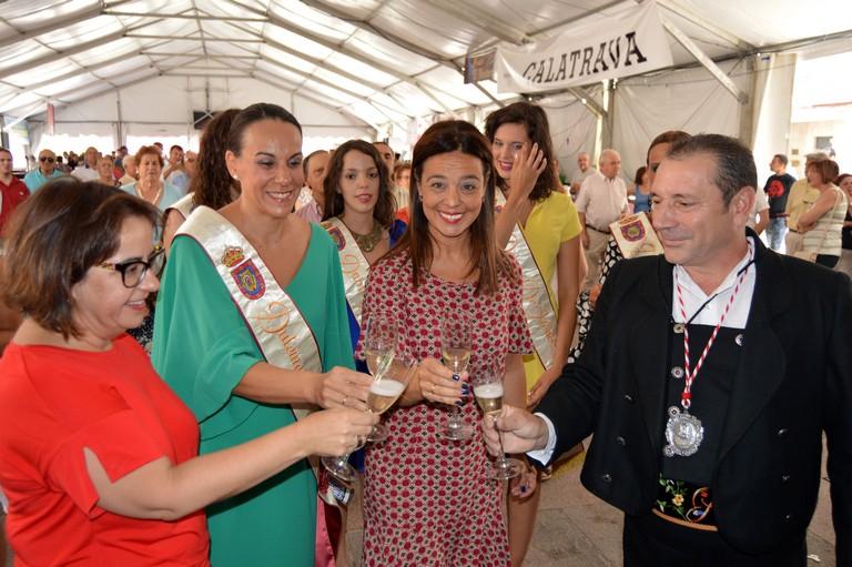 """Zamora en la inauguración del Baile del Vermú: """"Queremos que todo el mundo viva la alegría de sentirse de Ciudad Real"""""""