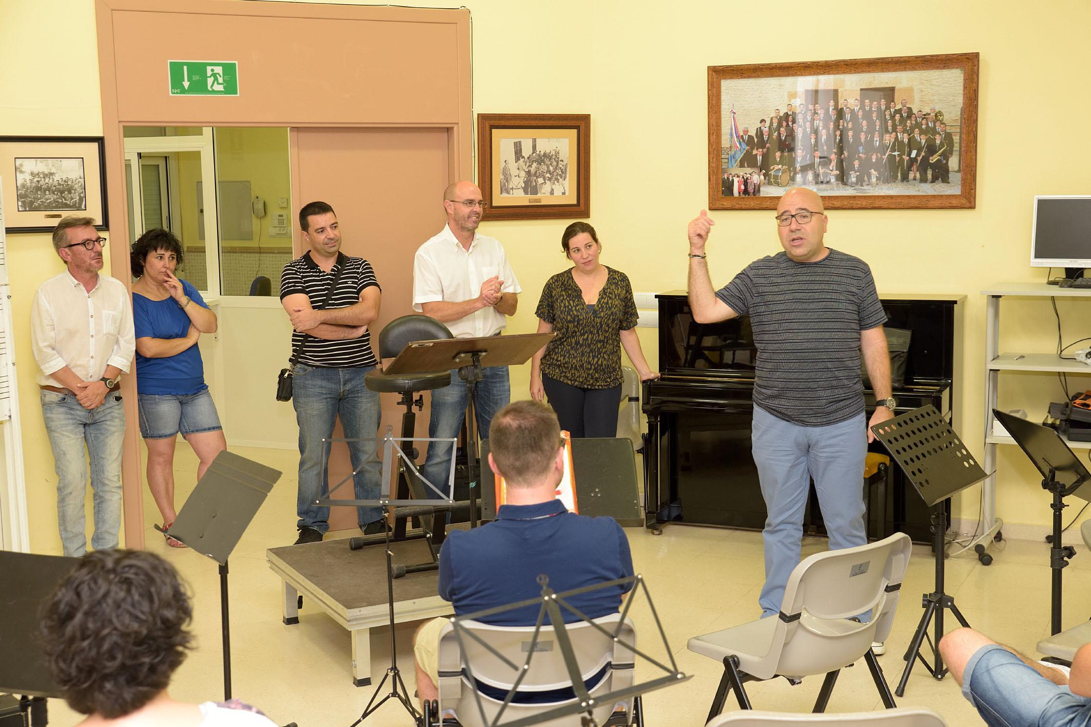 Inauguración curso internacional de direccion de bandas