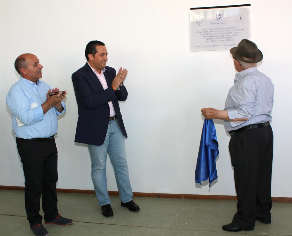 Inaugurada la nueva sede de la Asociación Cultural El Burleta en Campo de Criptana
