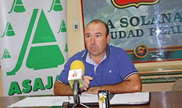 Según ASAJA en La Solana, la ausencia de lluvias está afectando a las viñas de secano y el nivel de los pozos