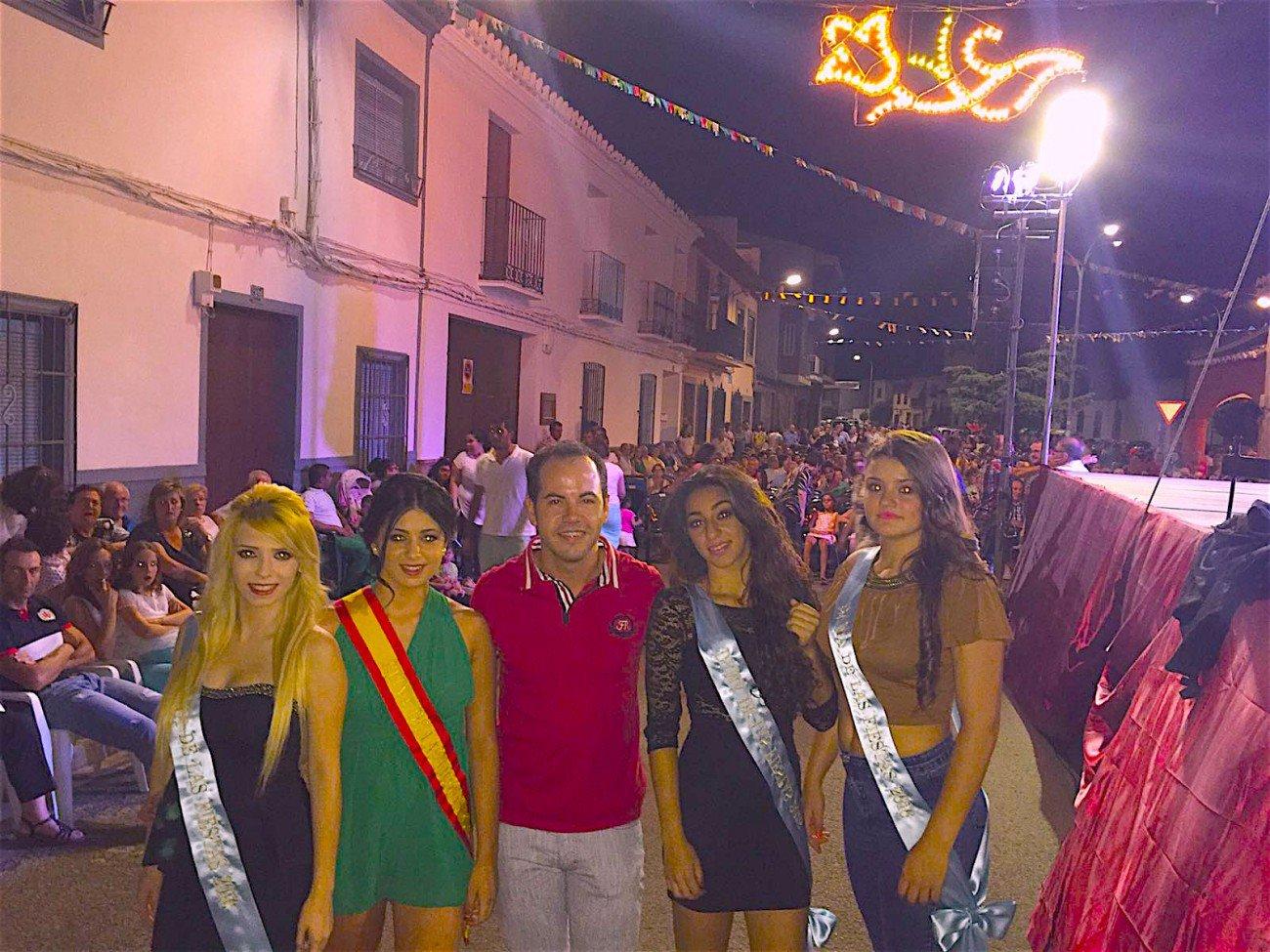 Lidia de la Rosa Moreno, nueva reina de las fiestas de la Merced en Herencia